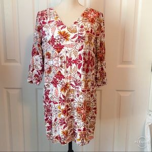 Old Navy Fall Floral Dress M